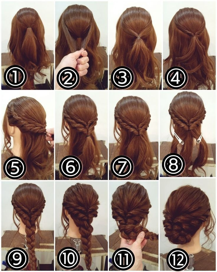 Awesome 12 amazing updo ideas for women with short hair amazing Short Hair Updo Ideas Pinterest Choices