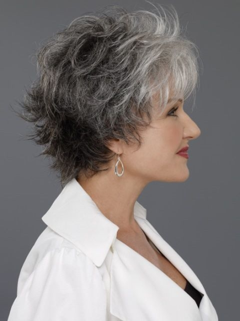 Awesome 14 flattering wavy hairstyles for women of all ages wavy Short Wavy Grey Hair Styles Choices