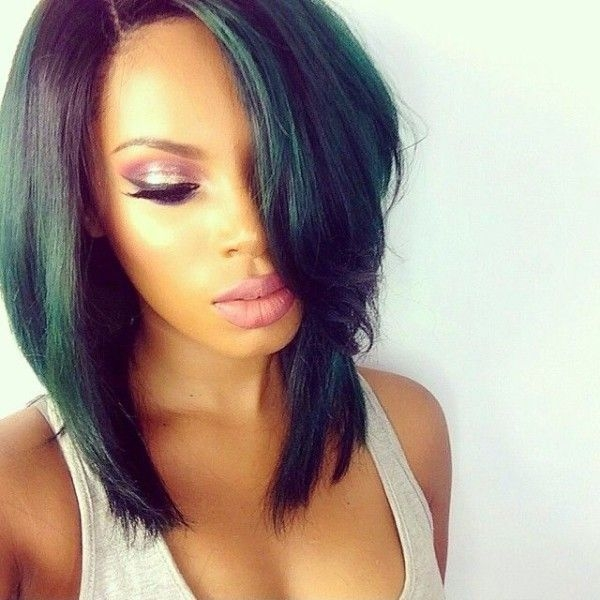 Awesome 15 classy layered bob hairstyles for black women 2020 trends African American Layered Hairstyles With Bangs