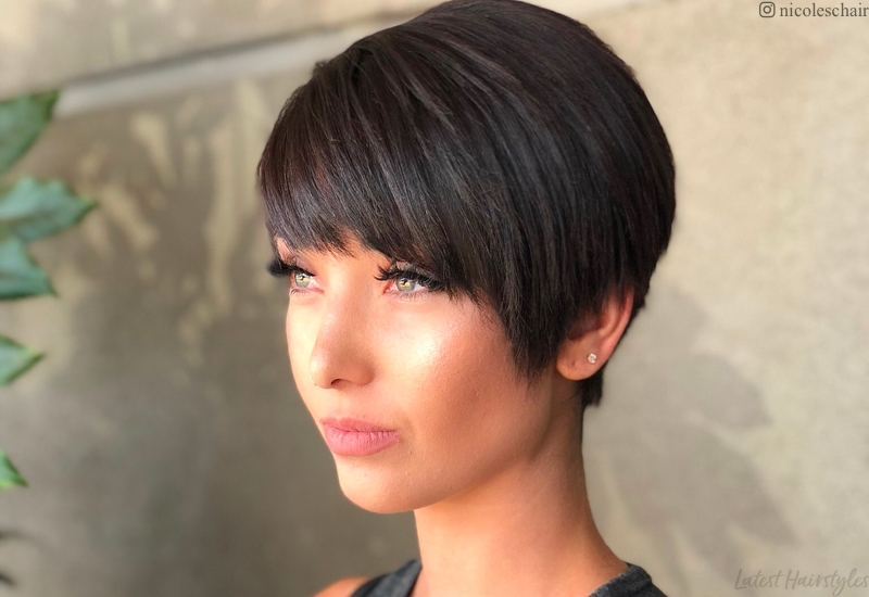 Awesome 18 best short dark hair color ideas of 2020 Dark Short Hair Styles Inspirations