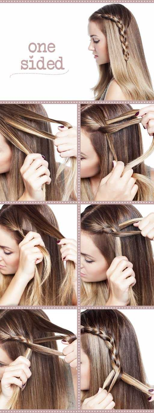 Awesome 18 easy step step tutorials for perfect hairstyles Easy Hairstyles For Very Short Hair To Do At Home Step By Step Inspirations