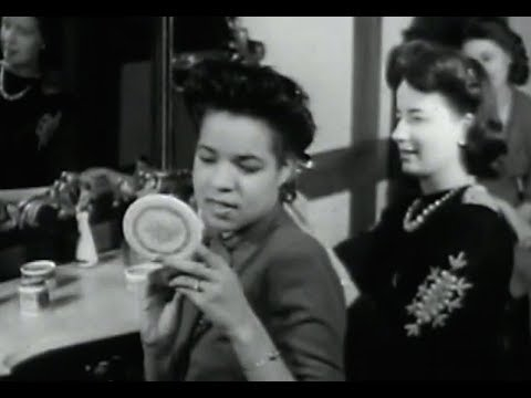 Awesome 1940s hairstyles african american women on film 1944 Vintage African American Hairstyles Designs