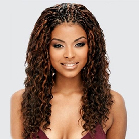 Awesome 20 charming braided hairstyles for black women braided Curly Hair Braiding Styles Choices