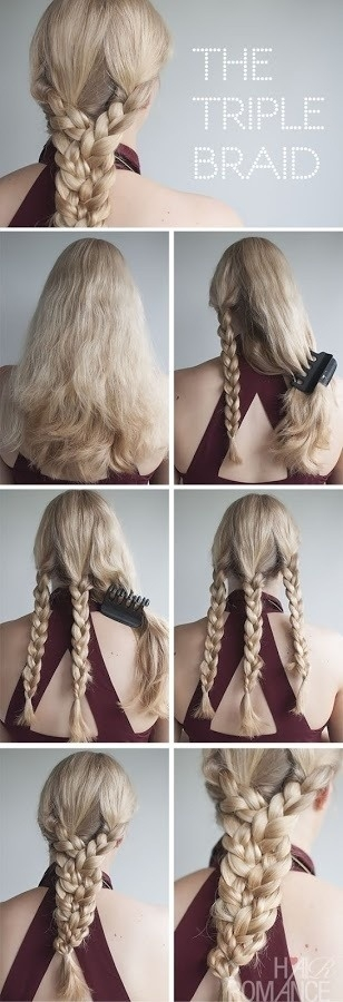 Awesome 20 cute and easy braided hairstyle tutorials Braided Hairstyles For Long Hair Tutorials Choices