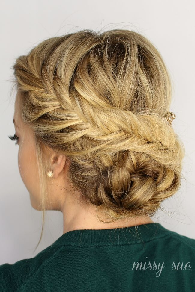 Awesome 20 exciting new intricate braid updo hairstyles popular Braided Hair Bun Styles Ideas
