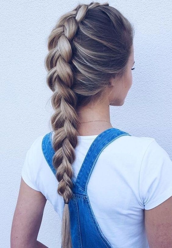 Awesome 20 gorgeous braided hairstyle ideas chic braids for women 2020 Cute Braid Long Hair Inspirations