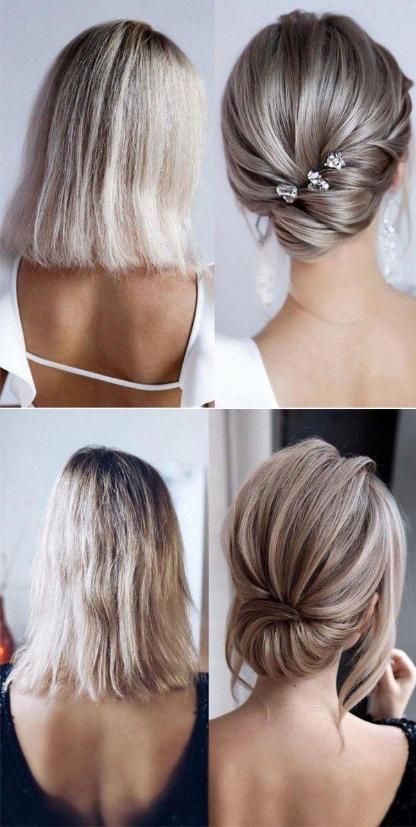 Awesome 20 medium length wedding hairstyles for 2021 brides Wedding Hairstyles For Short To Medium Length Hair Ideas