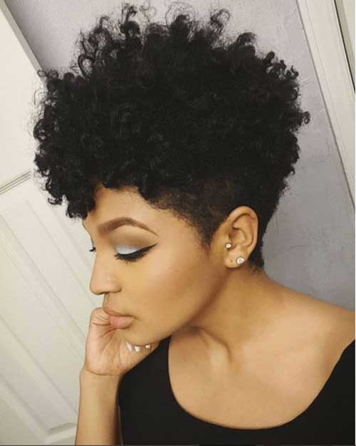 Awesome 20 short curly hairstyles for black women Styling Short Curly African American Hair Designs