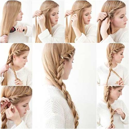 Awesome 20 terrific hairstyles for long thin hair French Braid Hairstyles For Thin Hair Choices