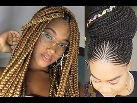 Awesome 2019 braided hairstyles fashionable best cornrows and New Braid Hair Styles Ideas