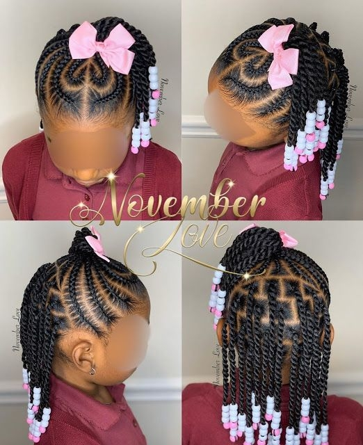 Awesome 2020 gorgeous braids for your lovely kids toddler braided Braids Hairstyles For Black Kids Inspirations
