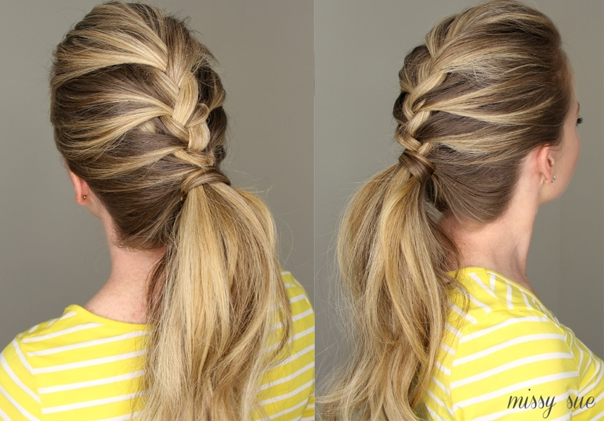 Awesome 21 braids for long hair with step step tutorials Simple Hair Braids Styles Inspirations
