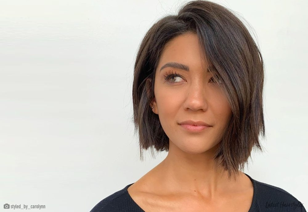Awesome 21 flattering short haircuts for oval faces in 2020 Short Haircuts For An Oval Face Ideas