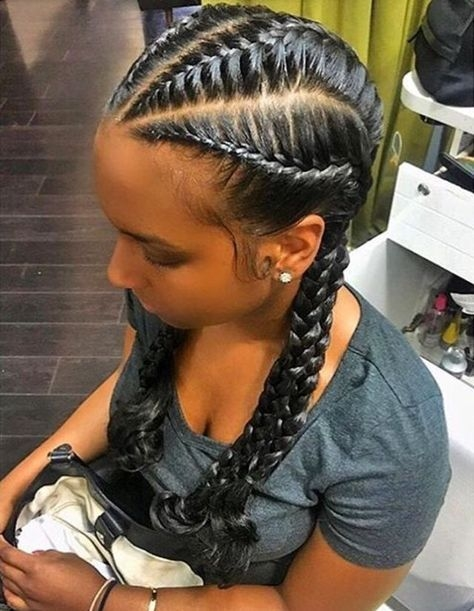 Awesome 23357c1512c7fa0ce59ddfec4a25b83f 640825 pixels African Cute French Braid Hairstyles Choices