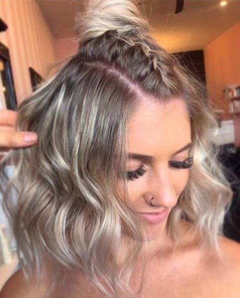Awesome 24 top curly prom hairstyles 2019 update Hairstyles For Short Curly Hair For Prom Ideas