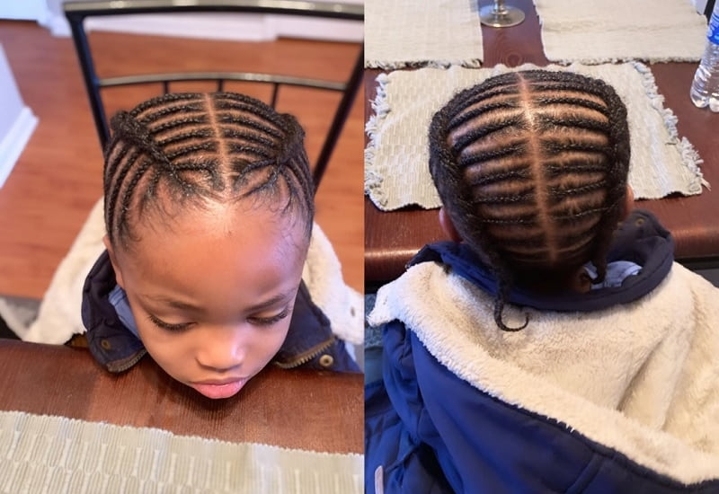 Awesome 25 appealing braids for boys to copy now child insider Baby Boy Braid Hairstyles Choices