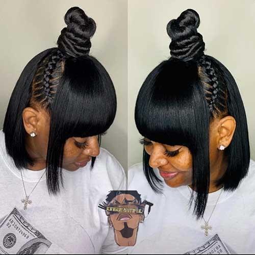 Awesome 25 cute short black haircut ideas short haircut Cute Hairstyle For Short Black Hair Ideas