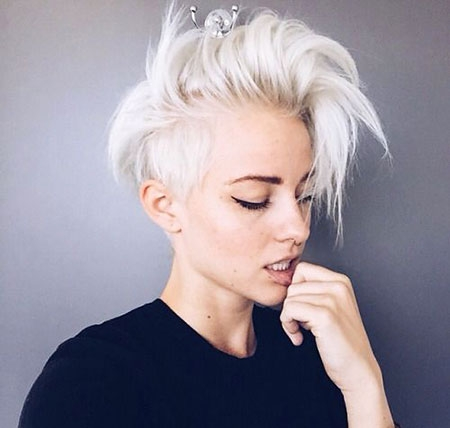 Awesome 25 new short blonde white hair 2017 blonde hairstyles 2020 Short White Hair Styles Inspirations