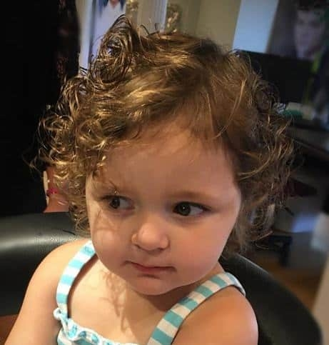 Awesome 25 short haircuts for little girls thatll never go out of style Cute Little Girl Hairstyles For Short Curly Hair Ideas