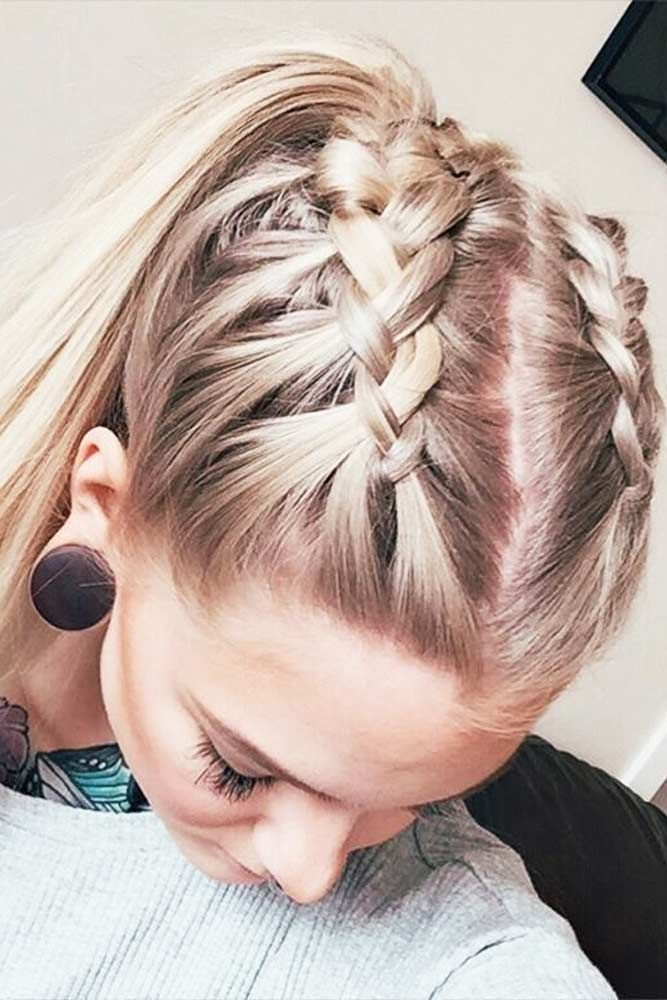 Awesome 27 easy cute hairstyles for medium hair lovehairstyles Braid Ideas For Medium Hair Inspirations