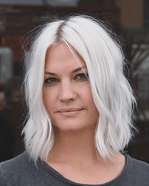 Awesome 30 new short white hair ideas 2019 short haircut Short White Hair Styles Choices