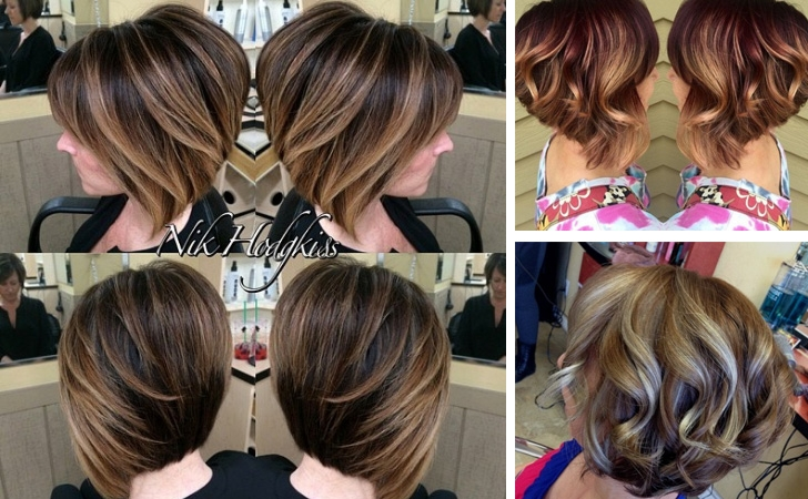 Awesome 30 stunning balayage hair color ideas for short hair 2021 Short Hairstyles And Color Ideas Ideas