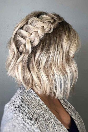 Awesome 33 amazing prom hairstyles for short hair 2020 Easy Hairstyles For Prom Short Hair Ideas
