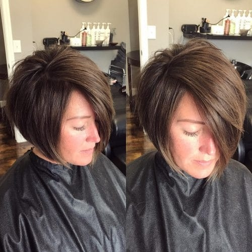 Awesome 33 hottest a line bob haircuts youll want to try in 2020 Short A Line Hair Styles Choices
