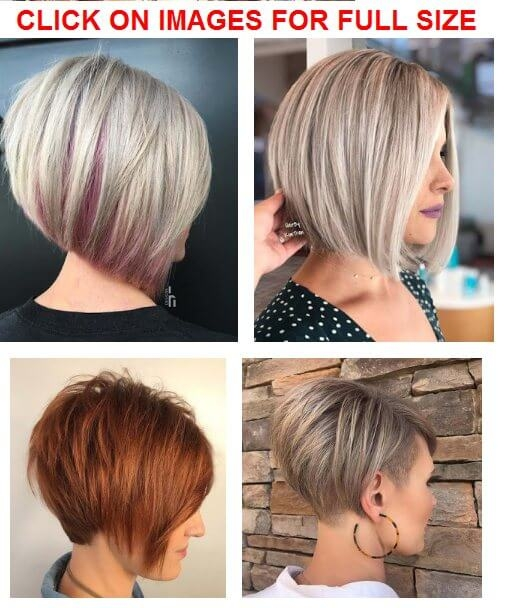 Awesome 34 easy short stacked bob haircuts for thin hair to copy in Short Stacked Haircuts Ideas