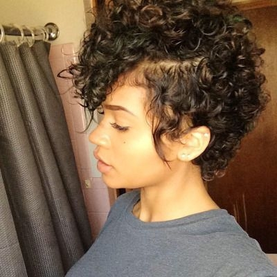 Awesome 35 cute hairstyles for short curly hair girls Cute Haircuts For Short Curly Hair Ideas