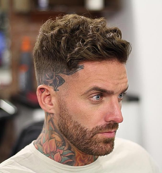 Awesome 40 modern mens hairstyles for curly hair that will change Hairstyles For Short Curly Hair Male Choices