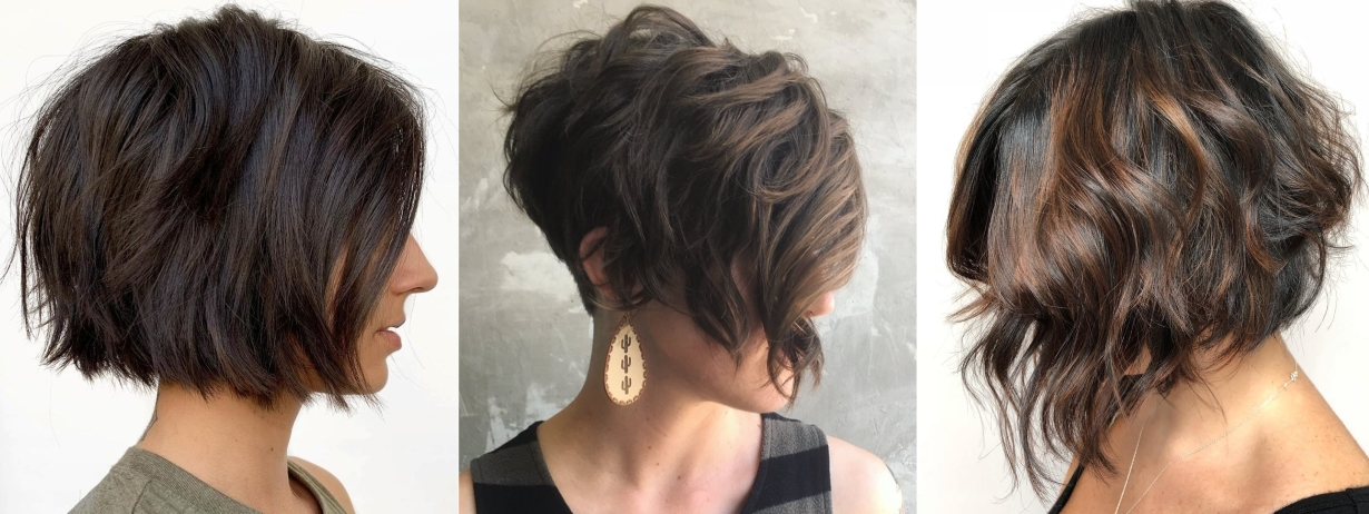 Awesome 40 short hairstyles for thick hair trendy in 2019 2020 Short Hairstyles For Thick Hair And Long Face Inspirations