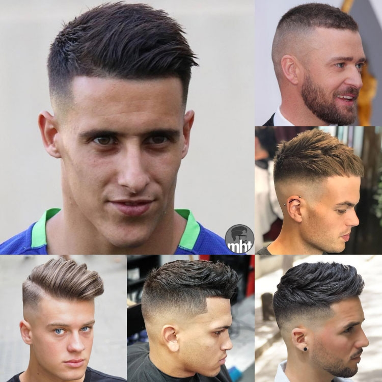 Awesome 45 best short haircuts for men 2020 styles Best Hairstyle For Short Hair Ideas