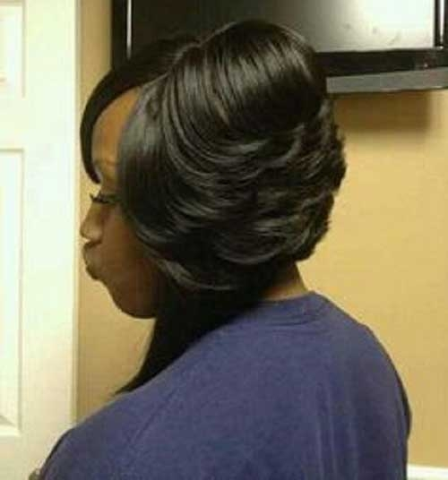 Awesome 45 black girl bob haircut with layers African American Layered Bob Hairstyle Photos Ideas