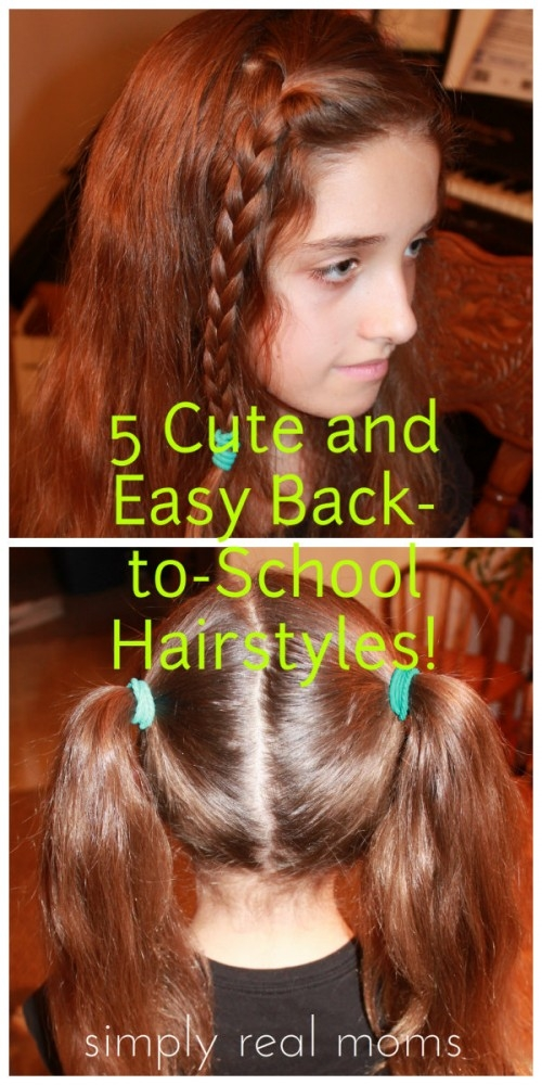Awesome 5 cute and easy back to school hairstyles Cute And Easy Back To School Hairstyles For Short Hair Choices