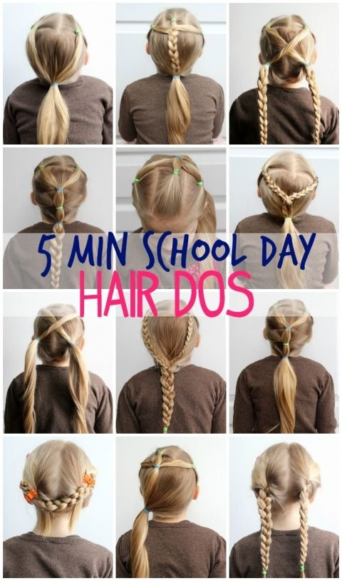 Awesome 5 minute hairstyles for school learn how fynes designs School Picture Day Hairstyles For Short Hair Inspirations