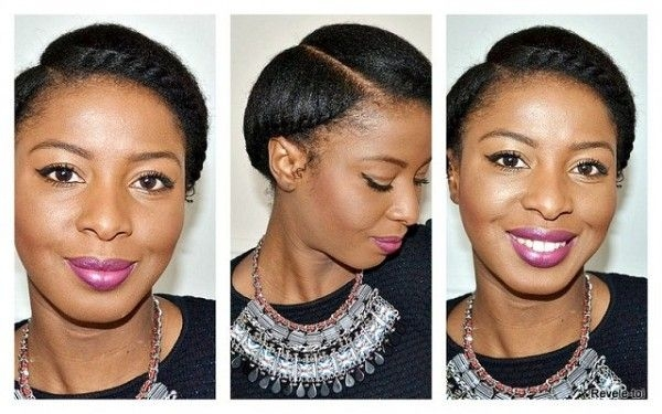 Awesome 5 ways to do milk maidhalo crowngoddess braids on natural Goddess Braid For Short Natural Hair Inspirations