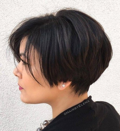Awesome 50 classy short haircuts and hairstyles for thick hair Thick Short Hair Styles Inspirations