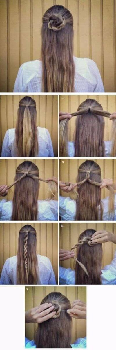 Awesome 50 incredibly easy hairstyles for school to save you time Easy Braided Hairstyles To Do At Home Step By Step Choices