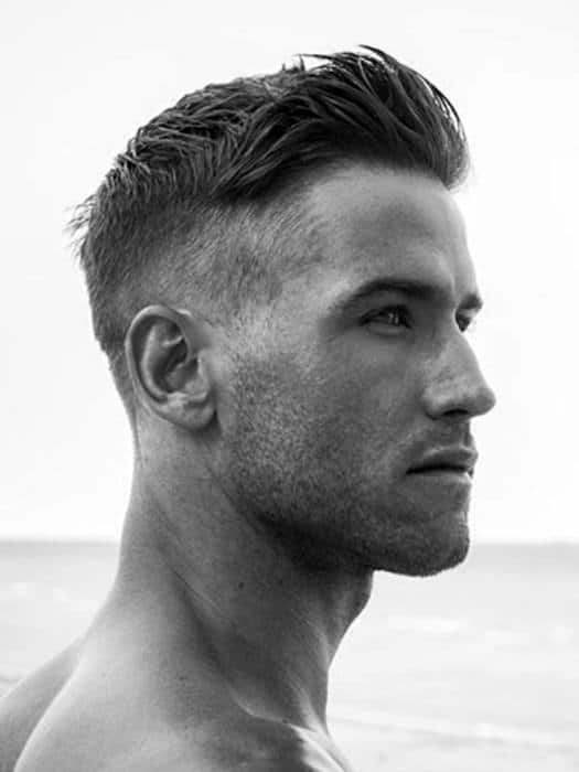 Awesome 50 mens short haircuts for thick hair masculine hairstyles Hairstyles For Short Thick Hair Guys Choices