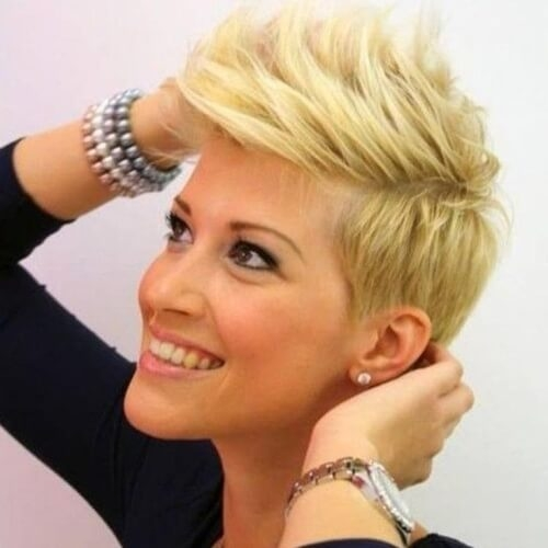 Awesome 50 perfect short haircuts for round faces hair motive hair Short Spiky Haircuts For Round Faces Inspirations