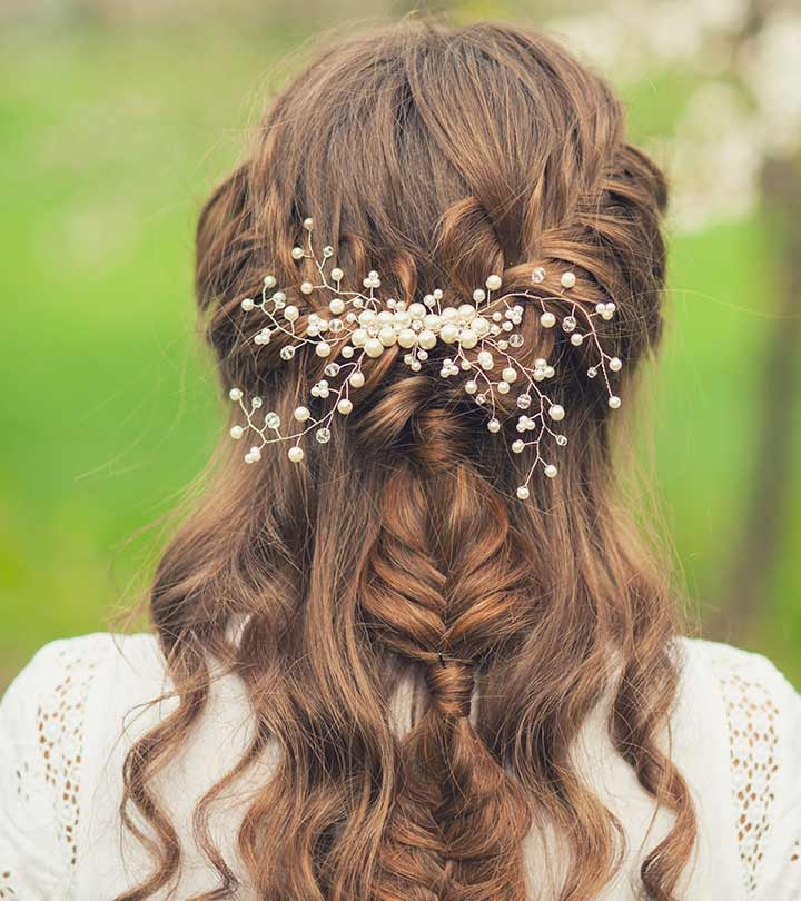 Awesome 50 simple bridal hairstyles for curly hair Curly Wedding Hairstyles For Short Hair Inspirations