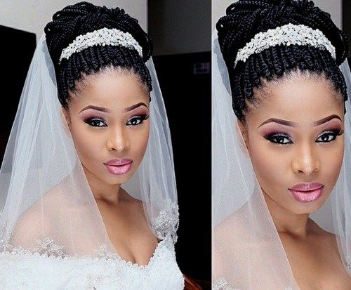 Awesome 50 superb black wedding hairstyles natural wedding Black Braided Updo Hairstyles For Weddings Choices