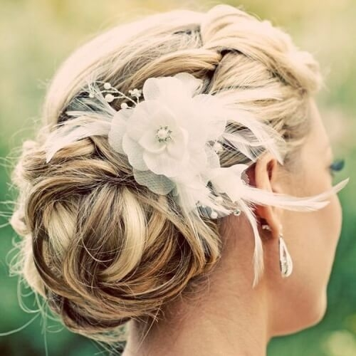 Awesome 50 superb wedding looks to try if you have short hair hair Short Hair Wedding Styles Pictures Choices
