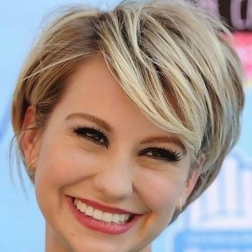 Awesome 55 alluring ways to sport short haircuts with thick hair Short Haircuts For Thick Hair And Round Face Inspirations