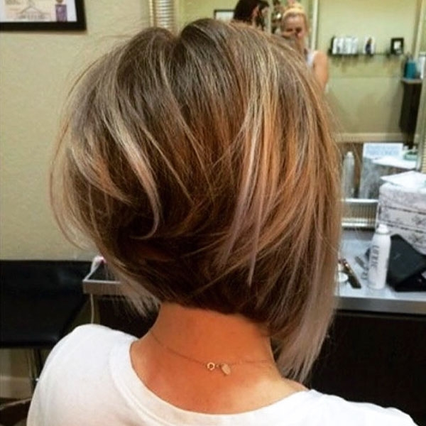 Awesome 60 new best short layered hairstyles short hairstyles Short Layered Haircuts From The Back Ideas