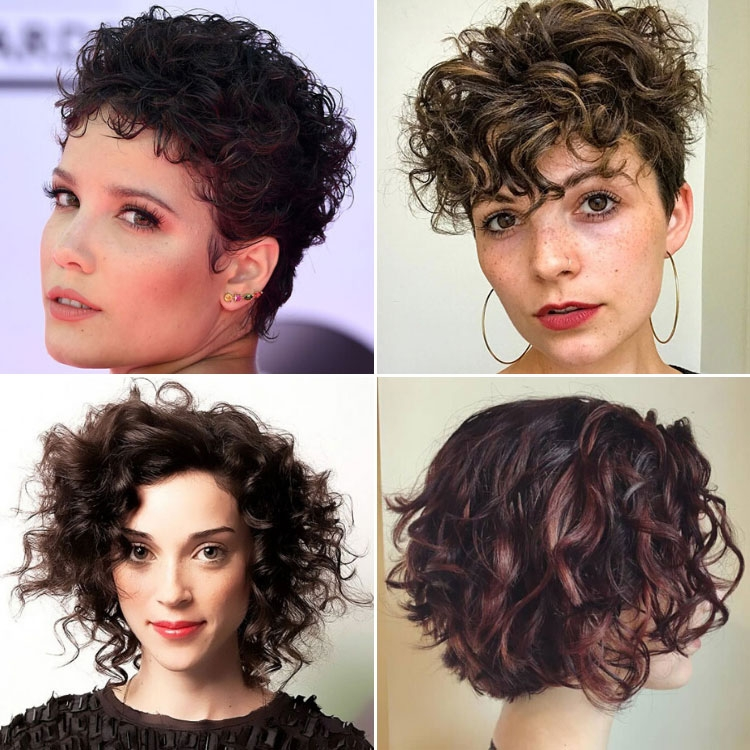 Awesome 63 cute hairstyles for short curly hair women 2020 guide Best Way To Style Short Curly Hair Ideas