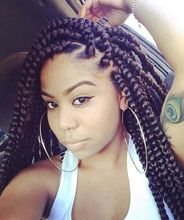Awesome 66 of the best looking black braided hairstyles for 2020 Style Braided Hair Ideas