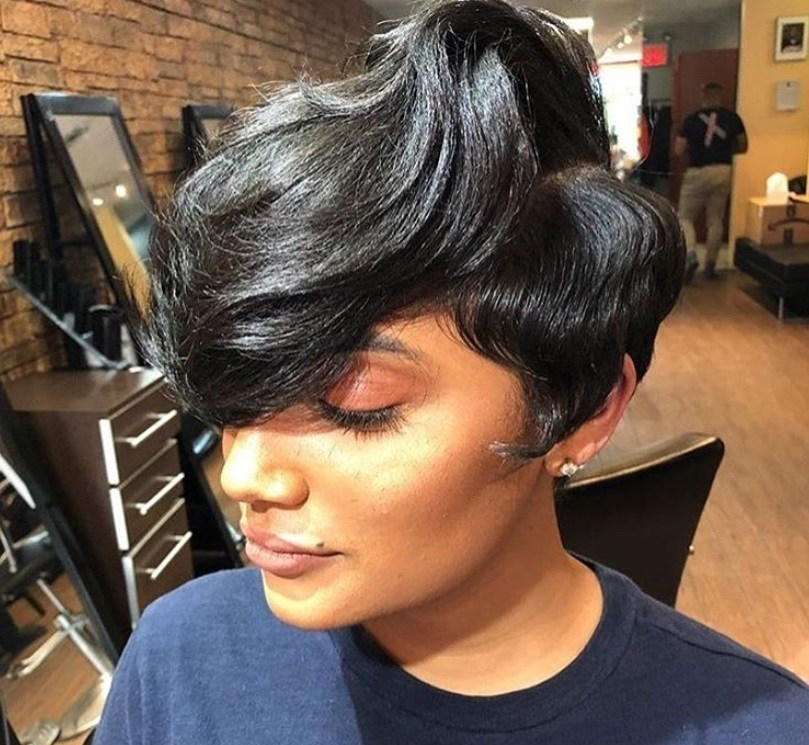 Awesome 7 best short weave hairstyles in 2019 Short Weave Hairstyles For Round Faces Choices