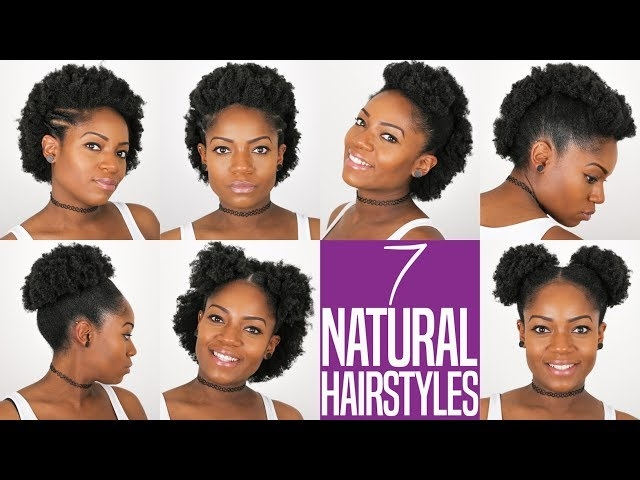 Awesome 7 natural hairstyles for short to medium length natural Styling Ideas For Natural African American Hair Designs